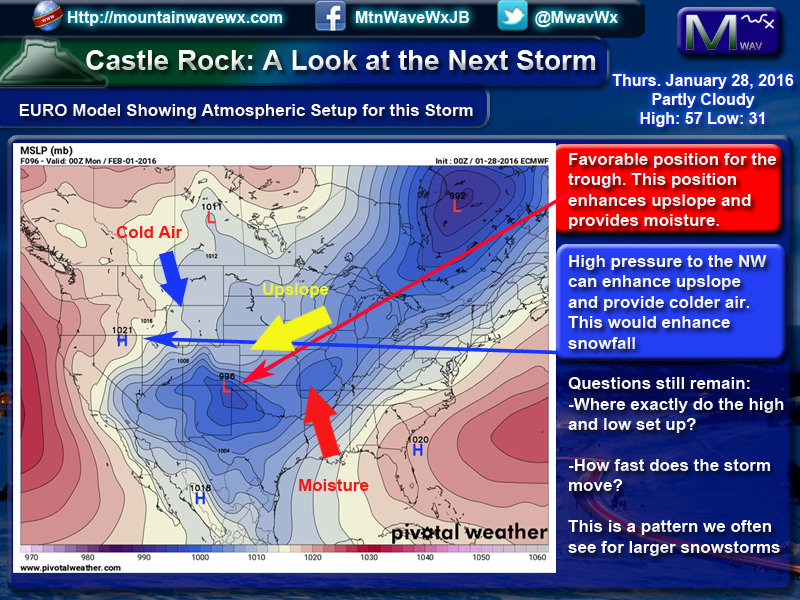 Large Winter Storm Likely to Affect Western U.S.