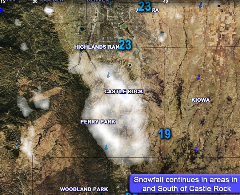 Saturday March 26 Winter Storm Update