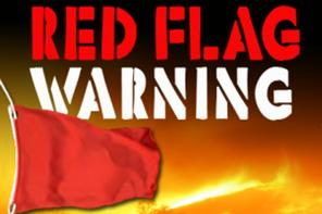 Red Flag Warning Issued for Wednesday March 2