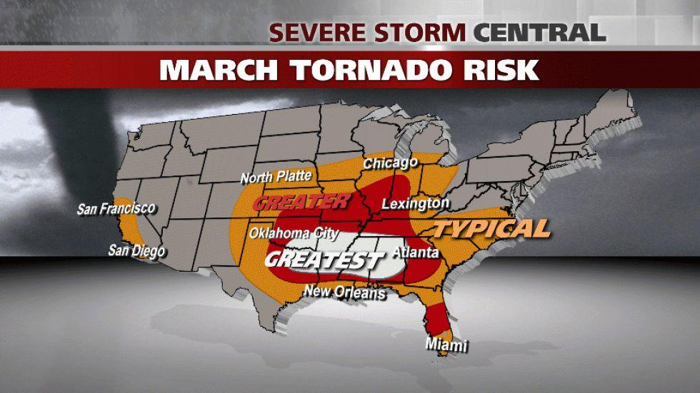 March 1: First Day of Meteorological Spring and Severe Weather Season