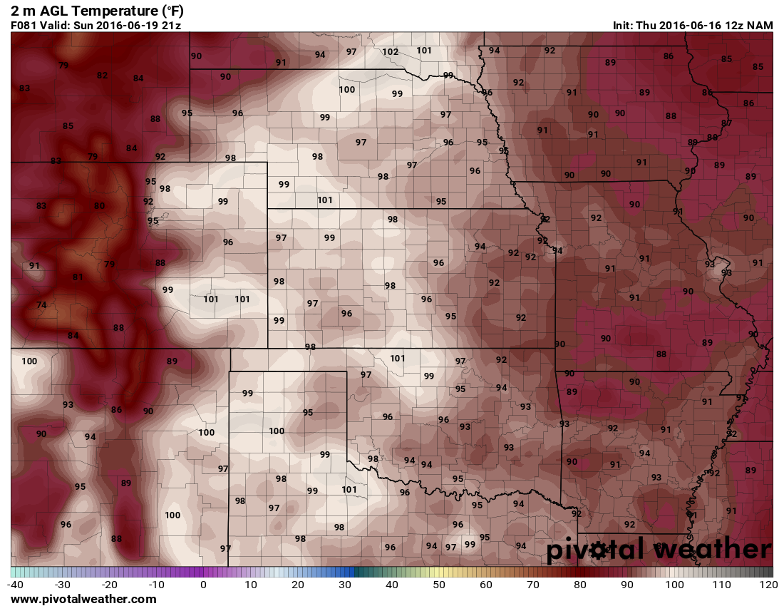 Scorching hot temperatures for Colorado projected on Sunday