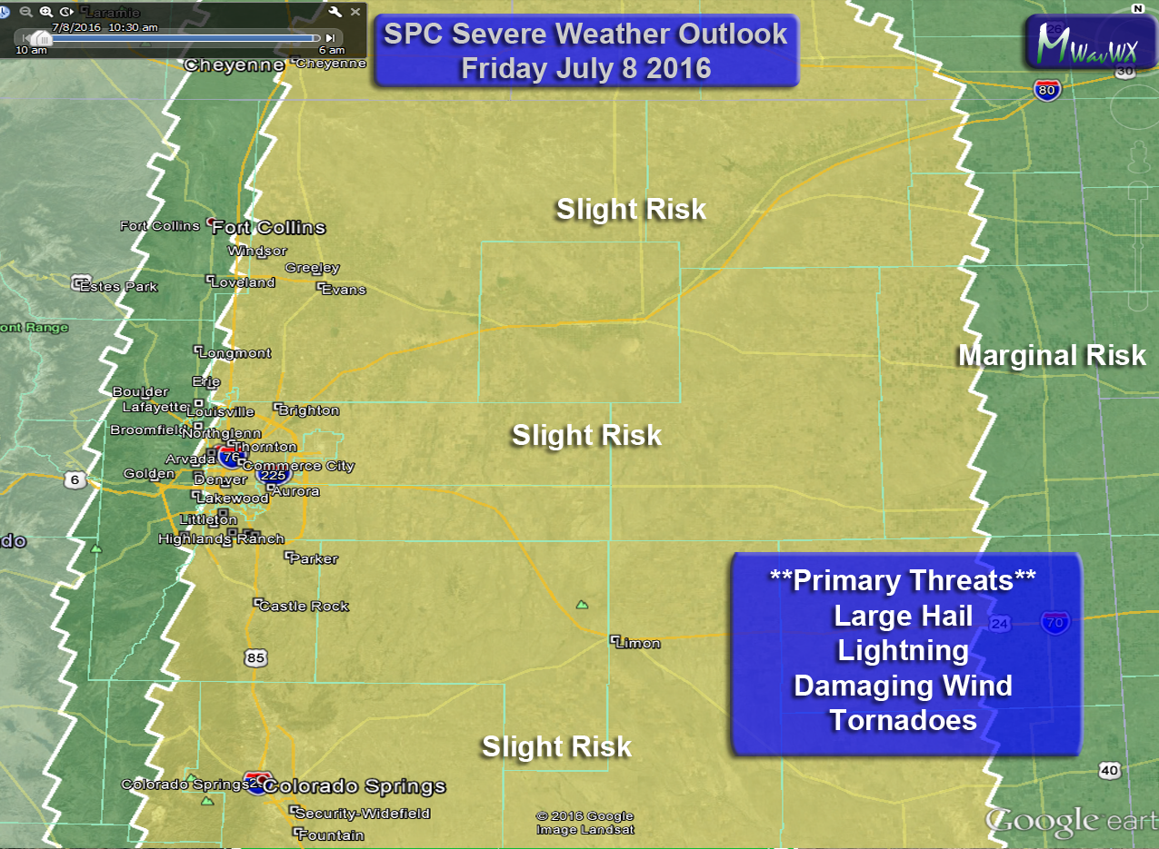 Severe Weather Possible Friday, Weekend Looks Nicer