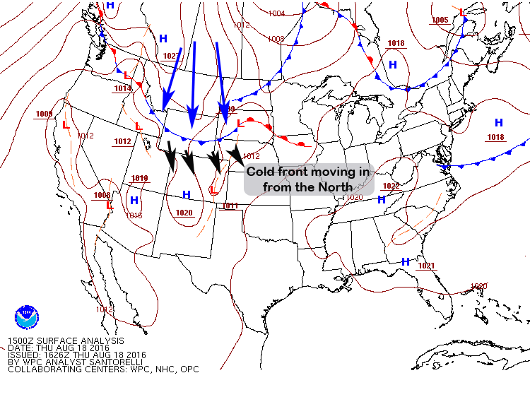 Colorado Weather Pattern Shifting – Cooler Air and Fall Like Weather Possible