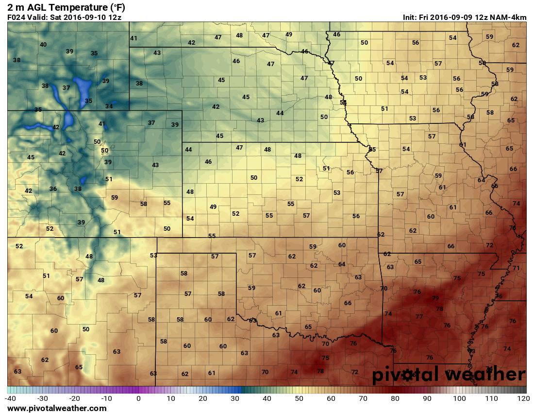 Colorado Weekend Weather Outlook