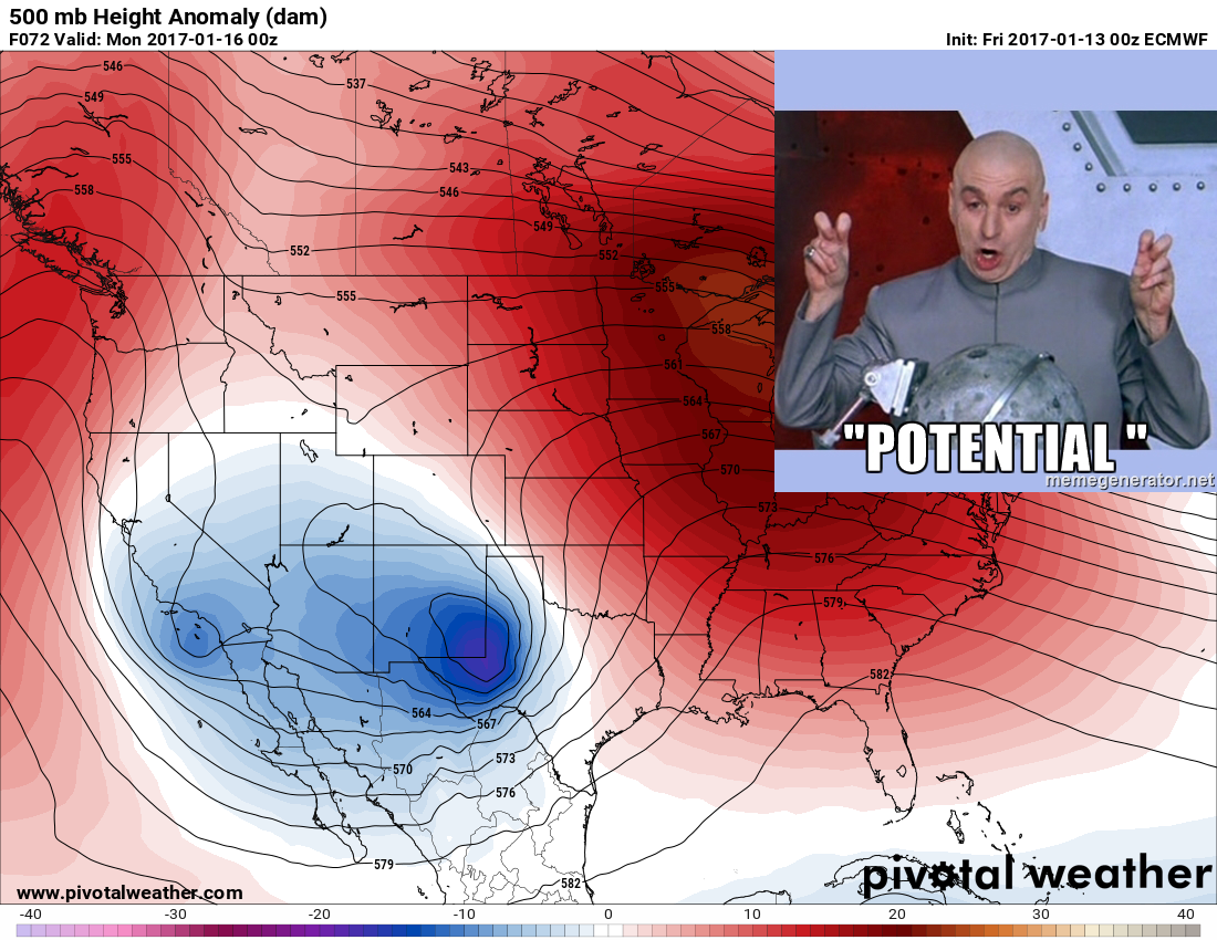 "Analyzing the Weekend Storm – ""Potential"""