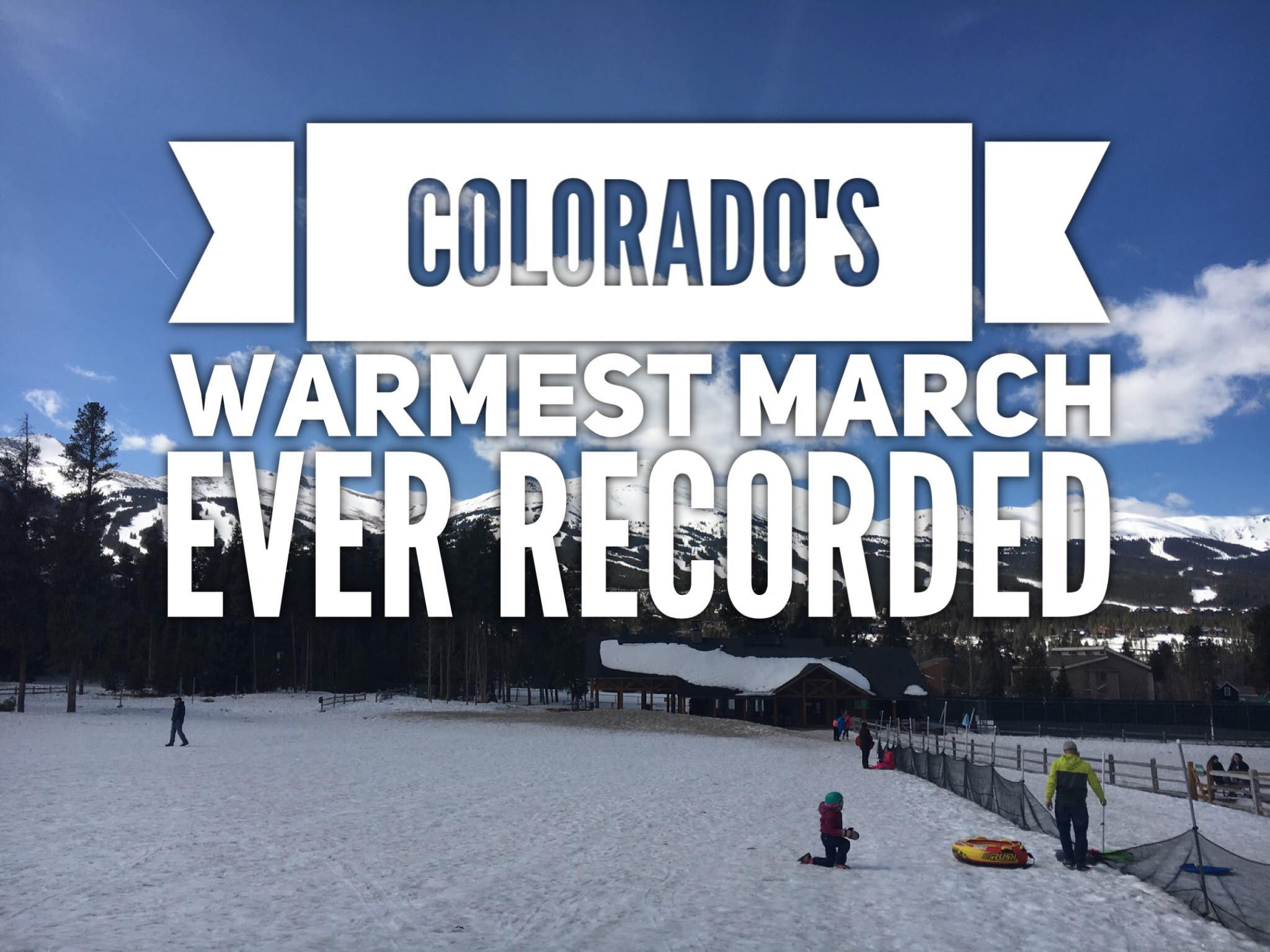 Colorado Records Warmest March Ever, How Did Castle Rock Do?