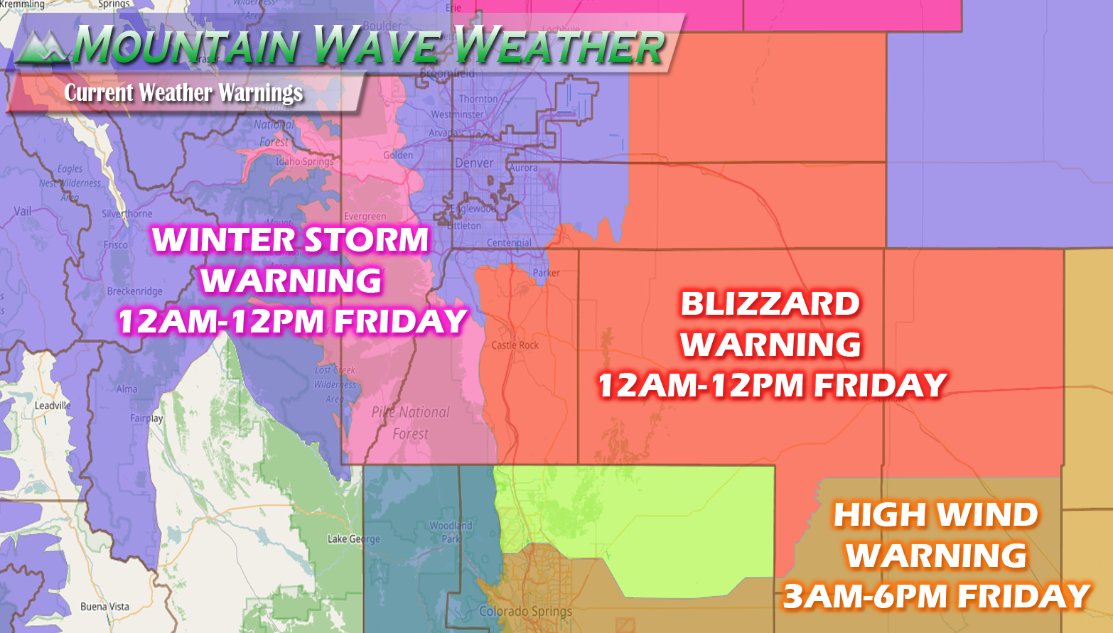 Forecast on Track: Blizzard Warnings Issued