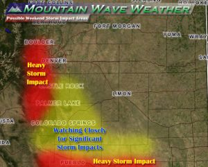 Castle Rock Weather, Storm Impact Areas, Snow Storm