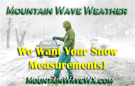 April Spring Storm – We Want Your Snow Totals!