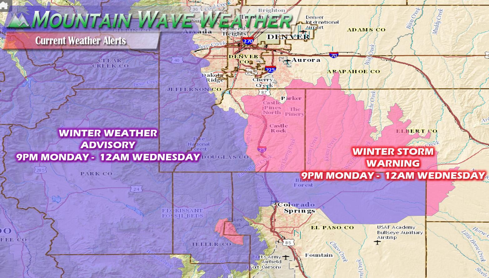 New Storm System Rolls Into Colorado Tonight