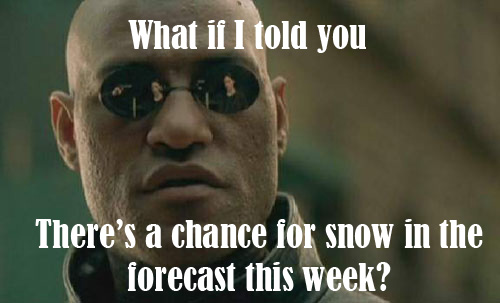 Enjoy the Warm Weather, Big Change Coming This Week!