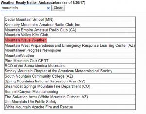 Mountain Wave Weather | Weather Ready Nation Ambassador 2017