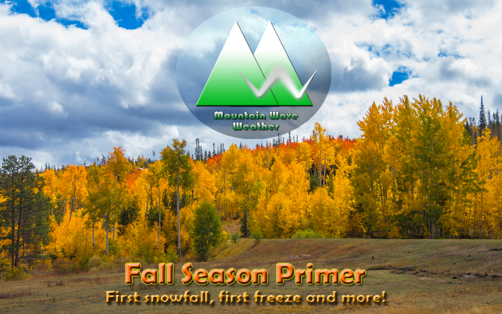 Palmer Divide Fall Weather Primer