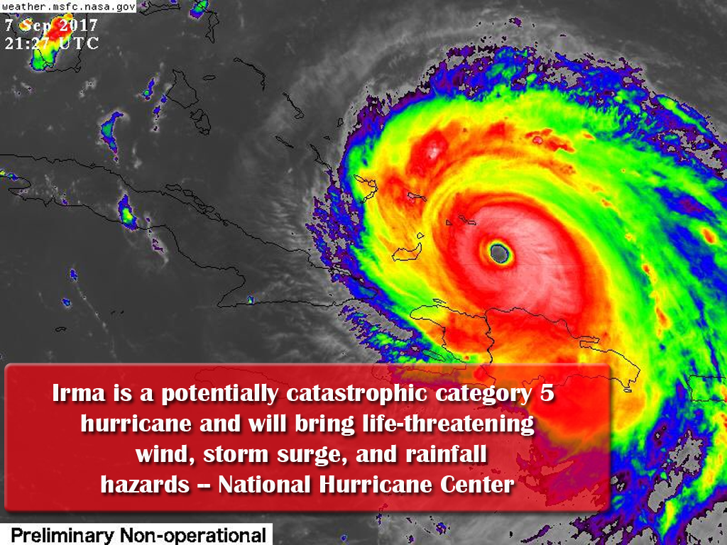 Potential Catastrophic Storm Targets Florida
