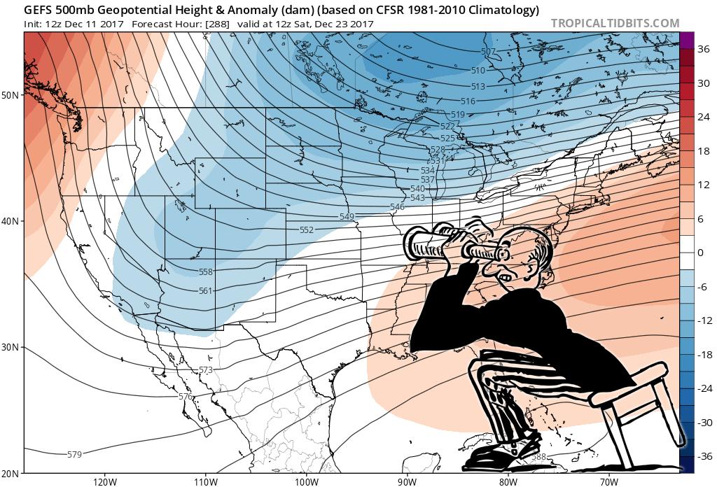 Medium Range Weather Outlook – Castle Rock CO