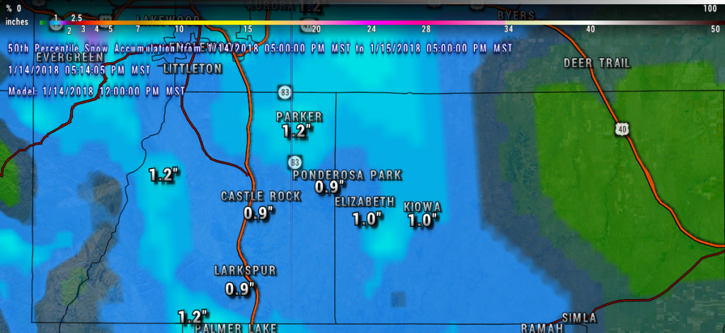 Winter Weather | Castle Rock CO Weather | Weather Castle Rock CO | Palmer Divide Weather | Snow Storm | Colorado Weather