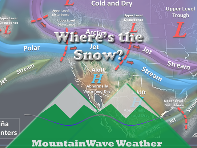 Everybody is Asking; Where's The Snow?