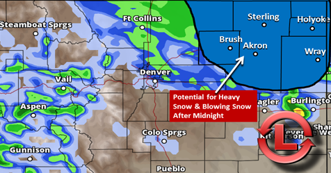 Strong Storm System to Bring Heavy Snow… For Some