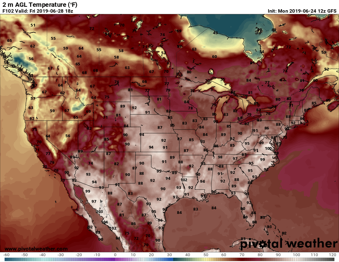 Major Weather Pattern Shift Arrives This Week – 06/24/2019