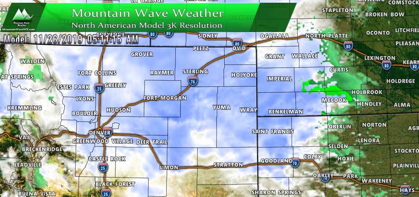 Winter Storm Update – Forecast on Track – 11/25/2019