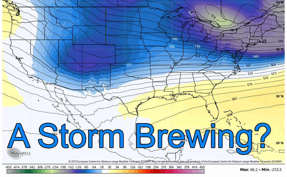 Weekend Looking More Unsettled – 12/10/2019