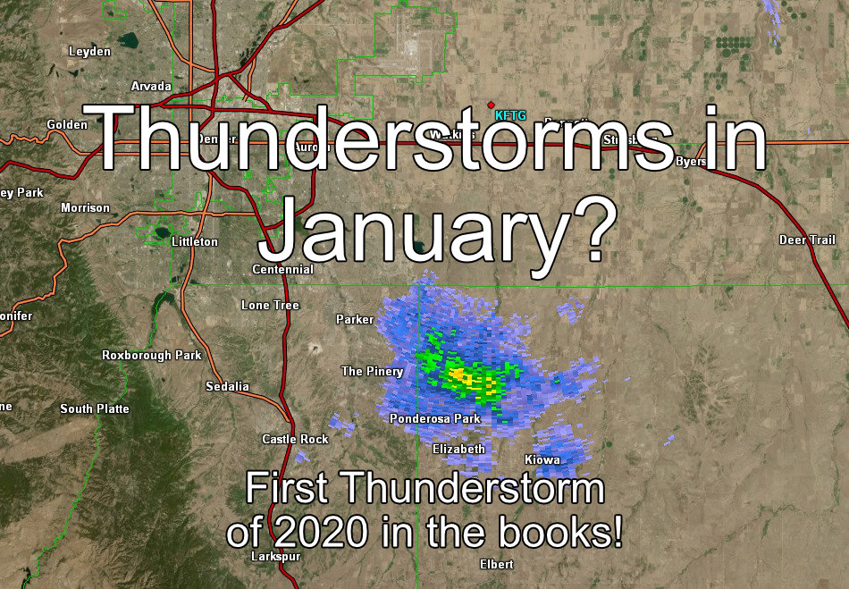 Thunderstorms in January? It Can Happen! – 1/18/2019