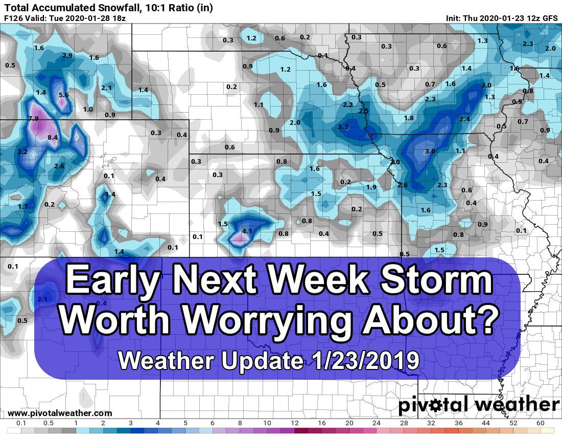 Next Week's Storm – A Chance for Moisture?