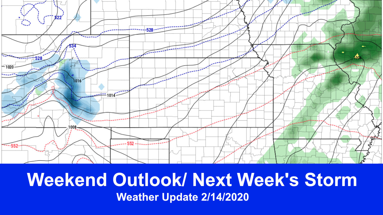 Snow Reprieve This Weekend – More on the Way Next Week?