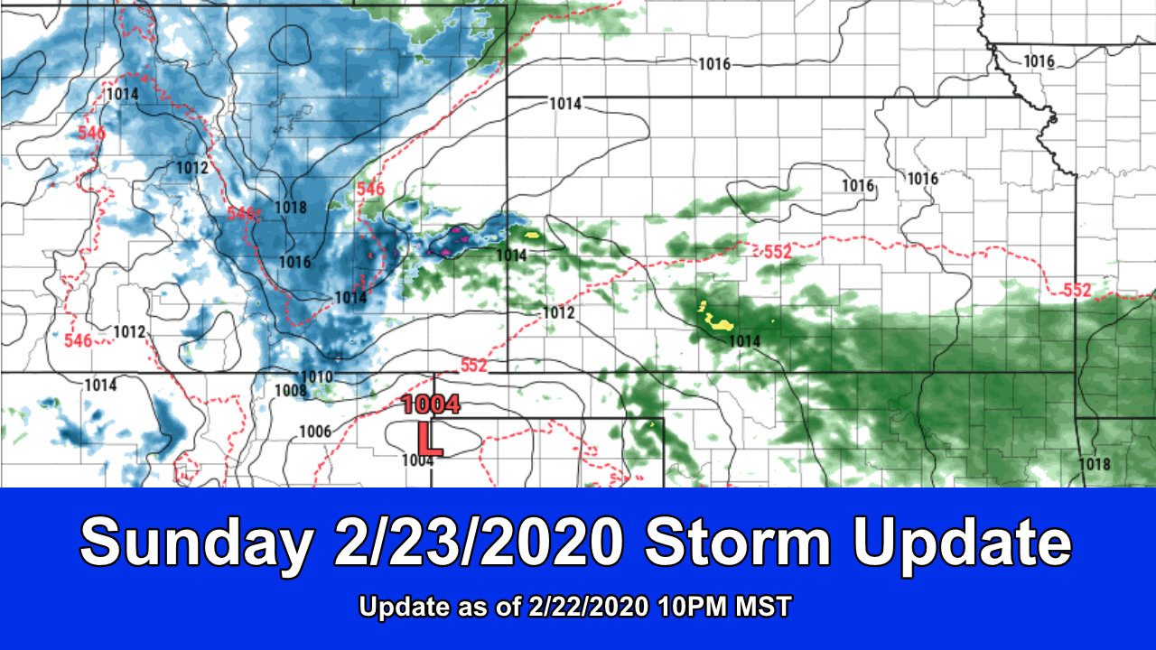 Spring Storm System Moves In – Lesser Snow Looking Likely
