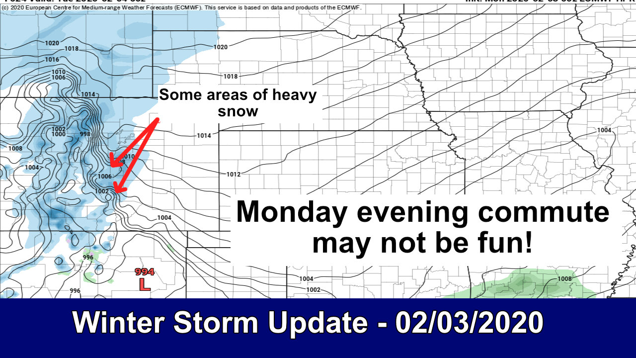 Storm Update: On Track – 02/03/2020