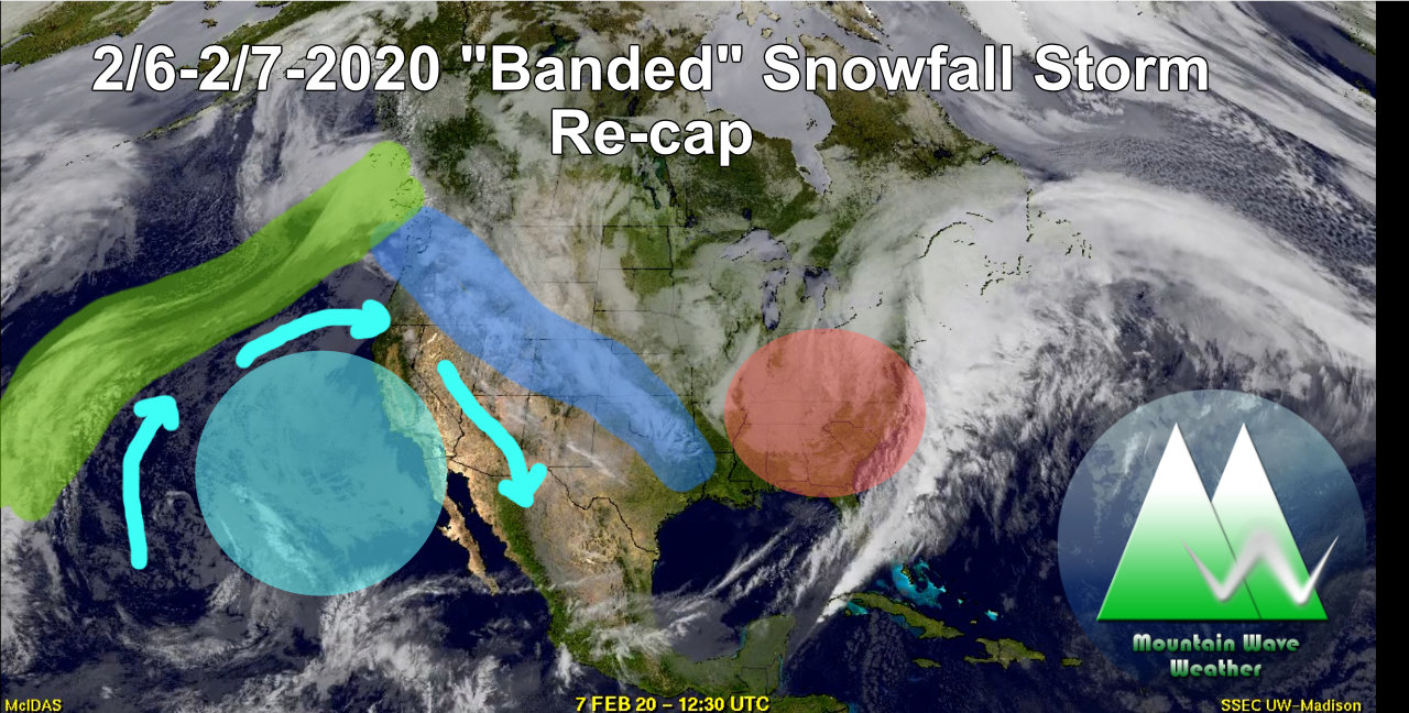 "Intense ""Banded"" Snowfall Storm Moves Out – Snow Totals and Discussion"
