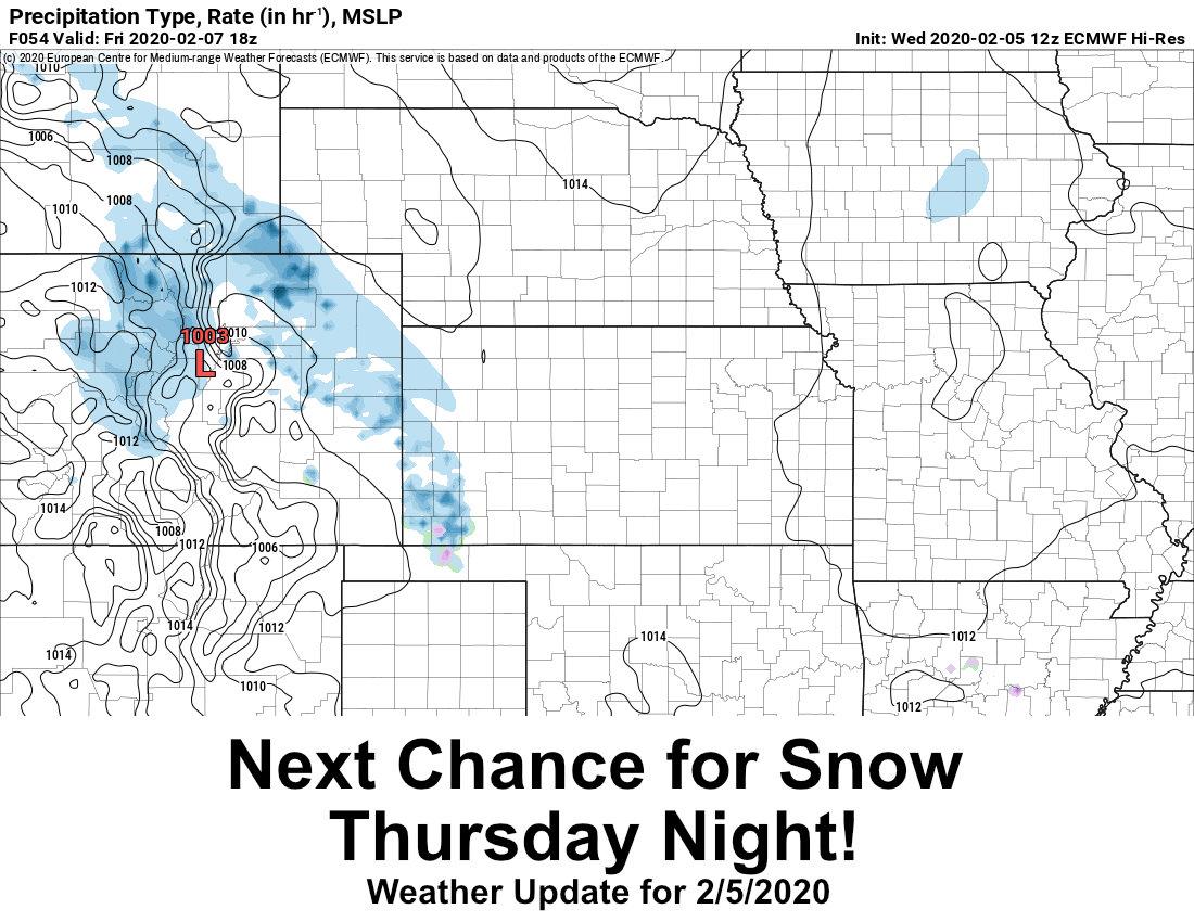 Next Storm to Bring More Snow to NE Colorado