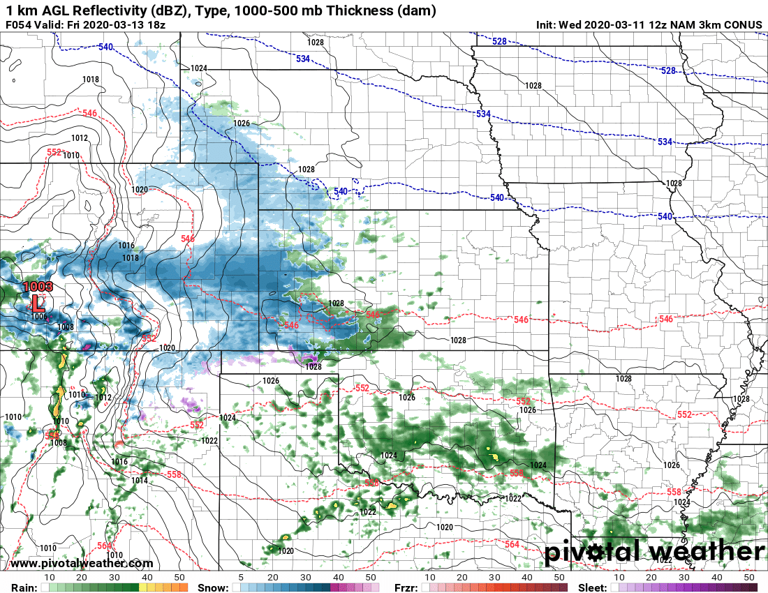 Next Chance for Snow Arrives Friday