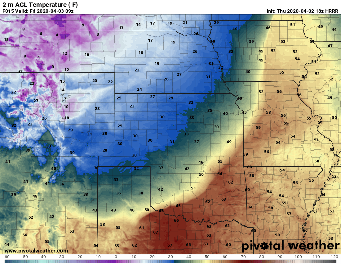 Thursday PM – Friday AM Storm Update – Some Adjustments