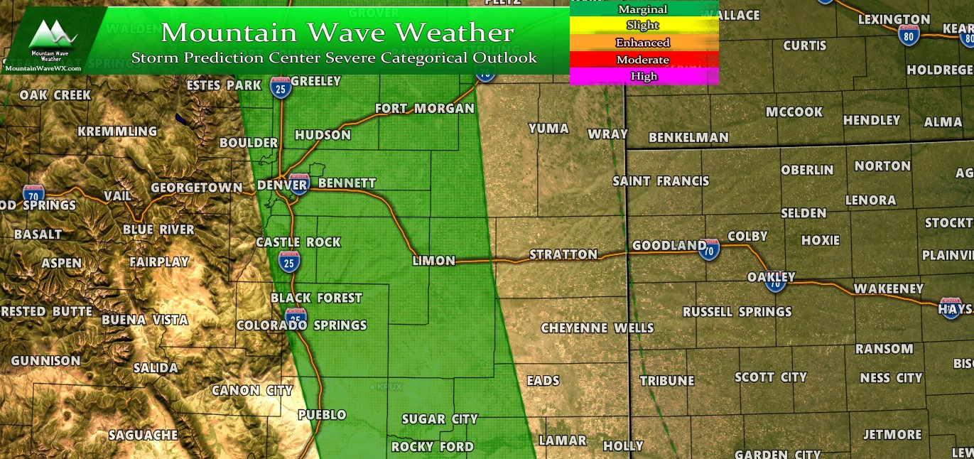 Palmer Divide Severe Weather Outlook – 05/19/2020