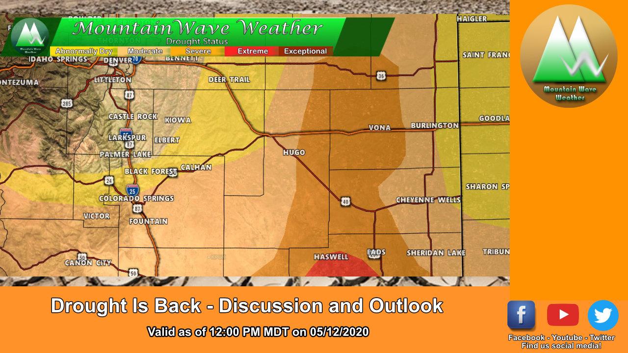 Drought Conditions Re-Establish in Colorado