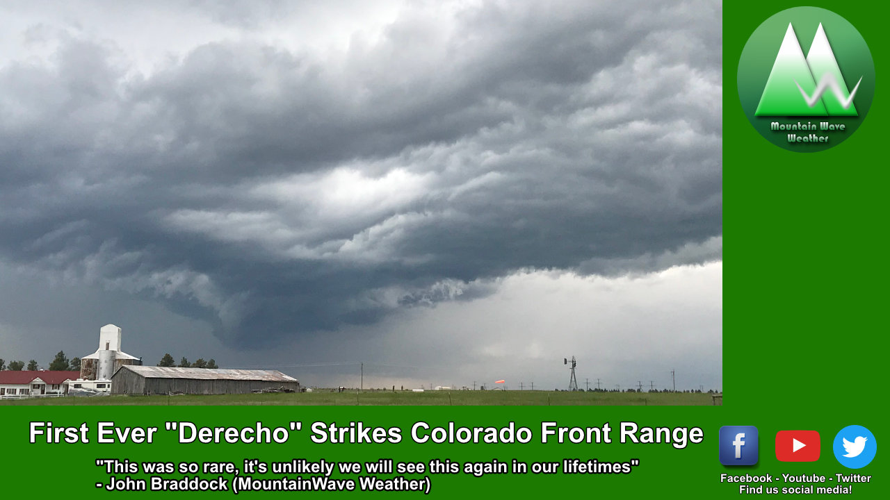 It's Official – Saturday's Severe Weather Event Was a Derecho!