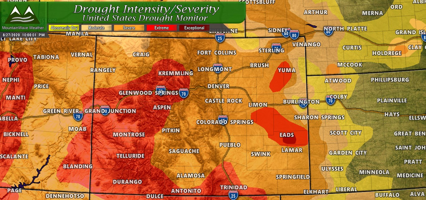 Drought Check: Severe Drought Is Here for Colorado!