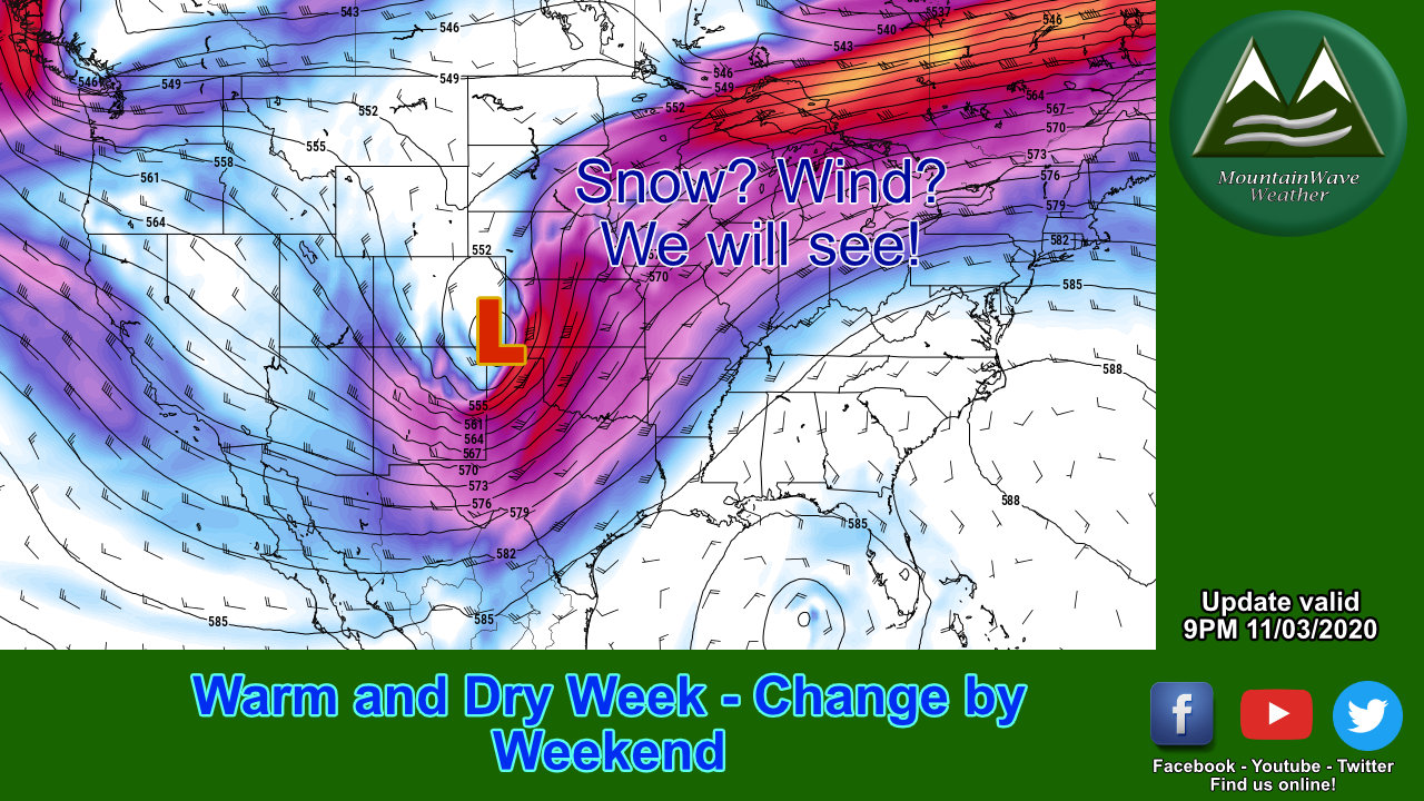 High Pressure Builds In – Eyeing the next Storm System!