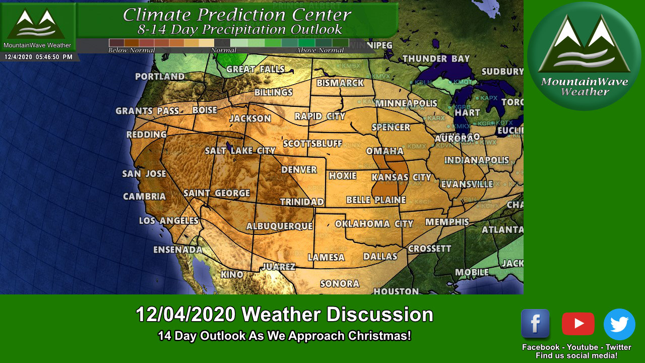 Front Range CO Weather Outlook – Next 14 Days