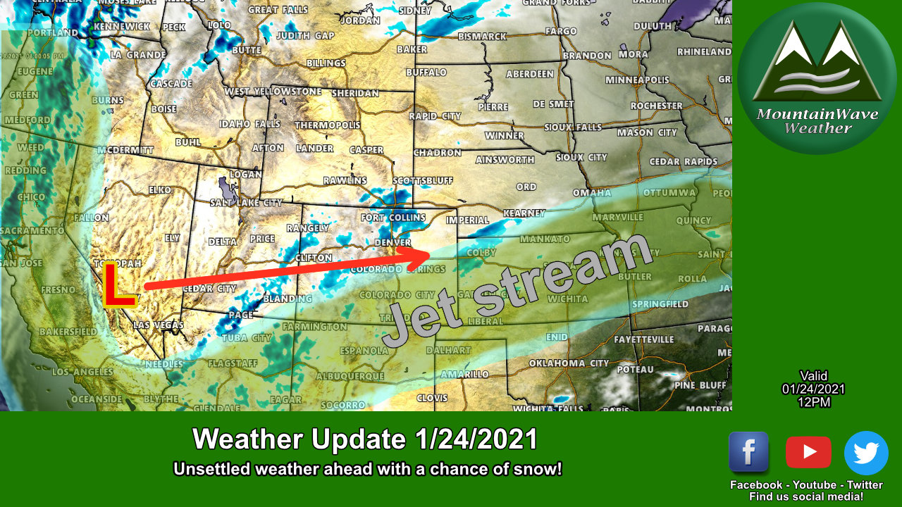 Monday-Tuesday More Snow on the Way!