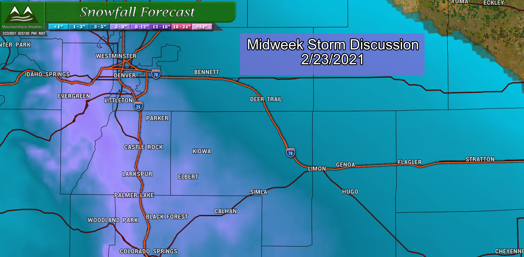 Midweek Storm: Keep An Eye On It!