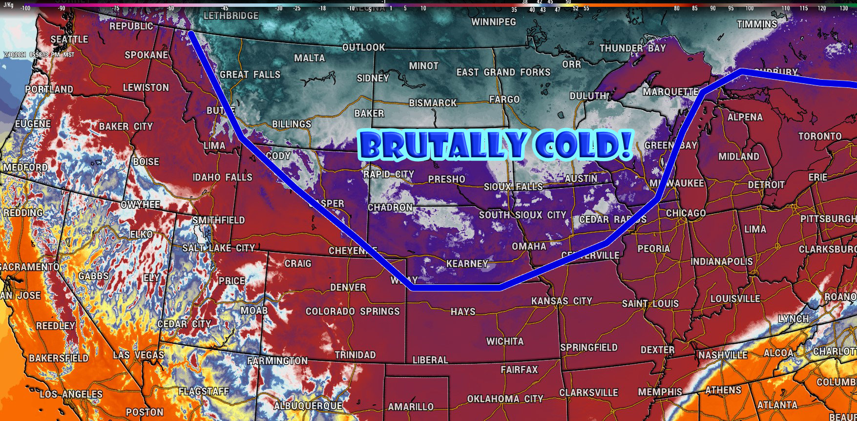 Brutal Cold, Snow on the Way for Weekend