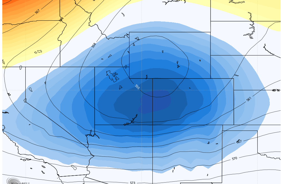 Thursday-Friday Storm Looks Interesting!