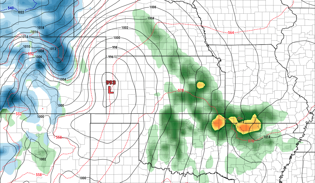 Powerful Storm System Forms Next Week