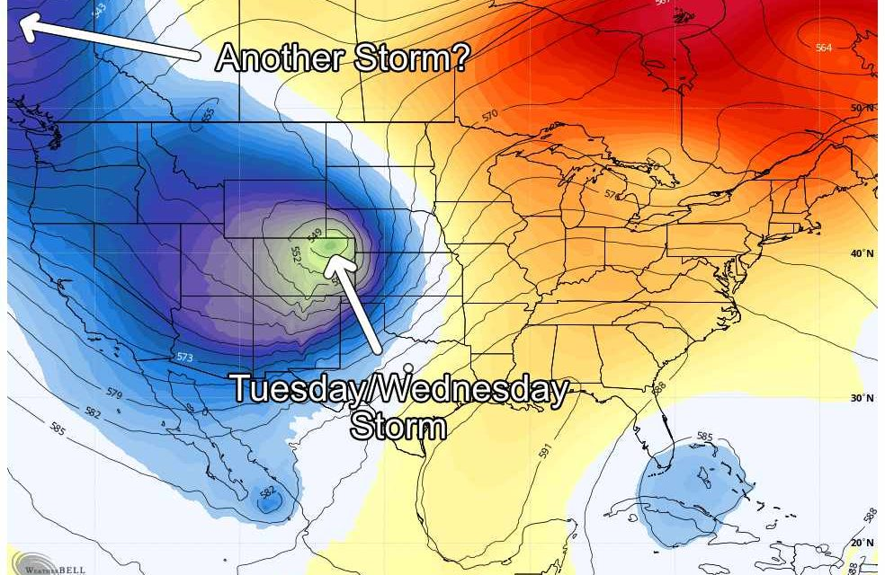 This Week – Tuesday/Wednesday Storm Update